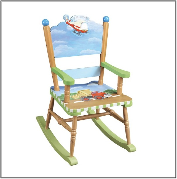 Baby Rocking Chair Plans