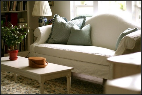 Drop Cloth Slipcovers For Sofas