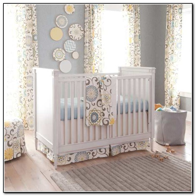 Baby Bedding And Curtains Sets