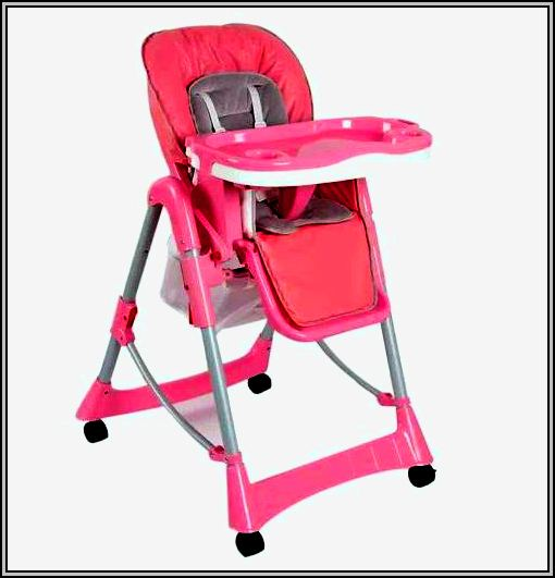 Baby High Chair Pink
