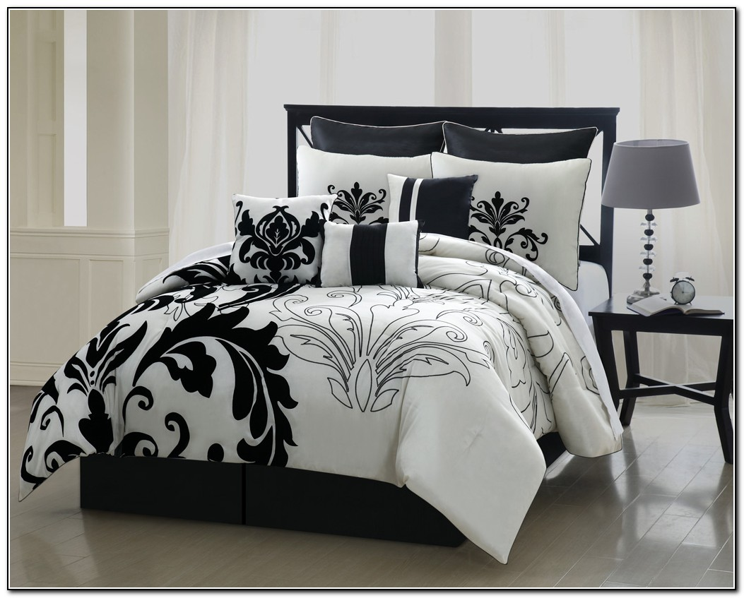 Bedding Sets Queen Black Beds Home Design Ideas