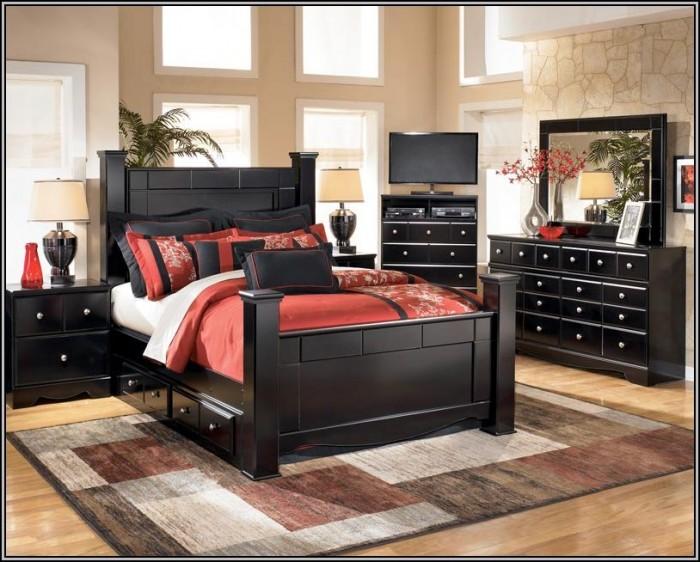 Black Bedroom Furniture Designs
