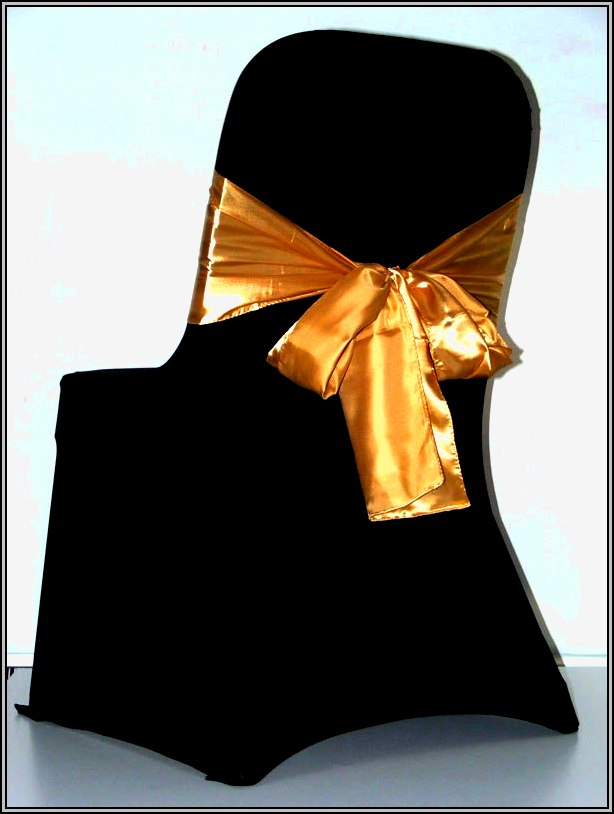 Black Chair Covers For Weddings