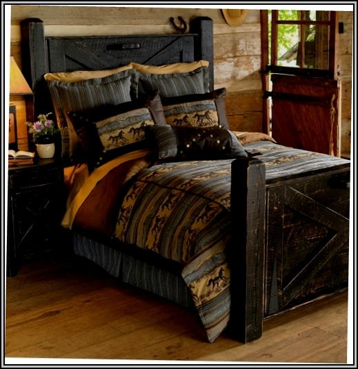 Turquoise Rustic Bedroom Furniture