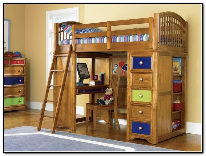 Bunk Beds For Kids With Desk
