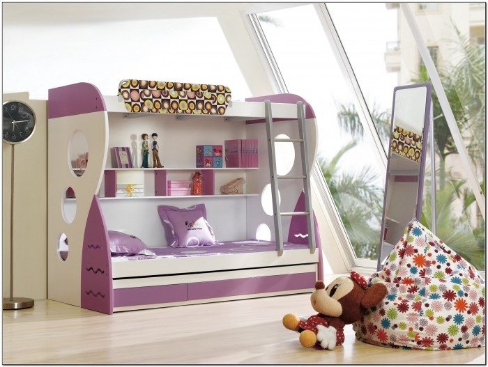 Bunk Beds With Stairs For Teenage Girls