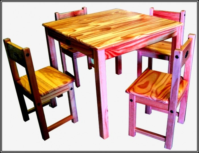 Childrens Table And Chairs Wooden