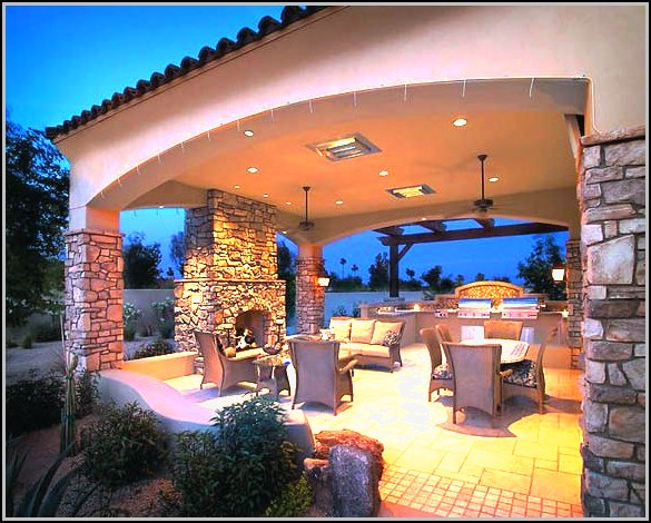 Covered Backyard Patio Ideas