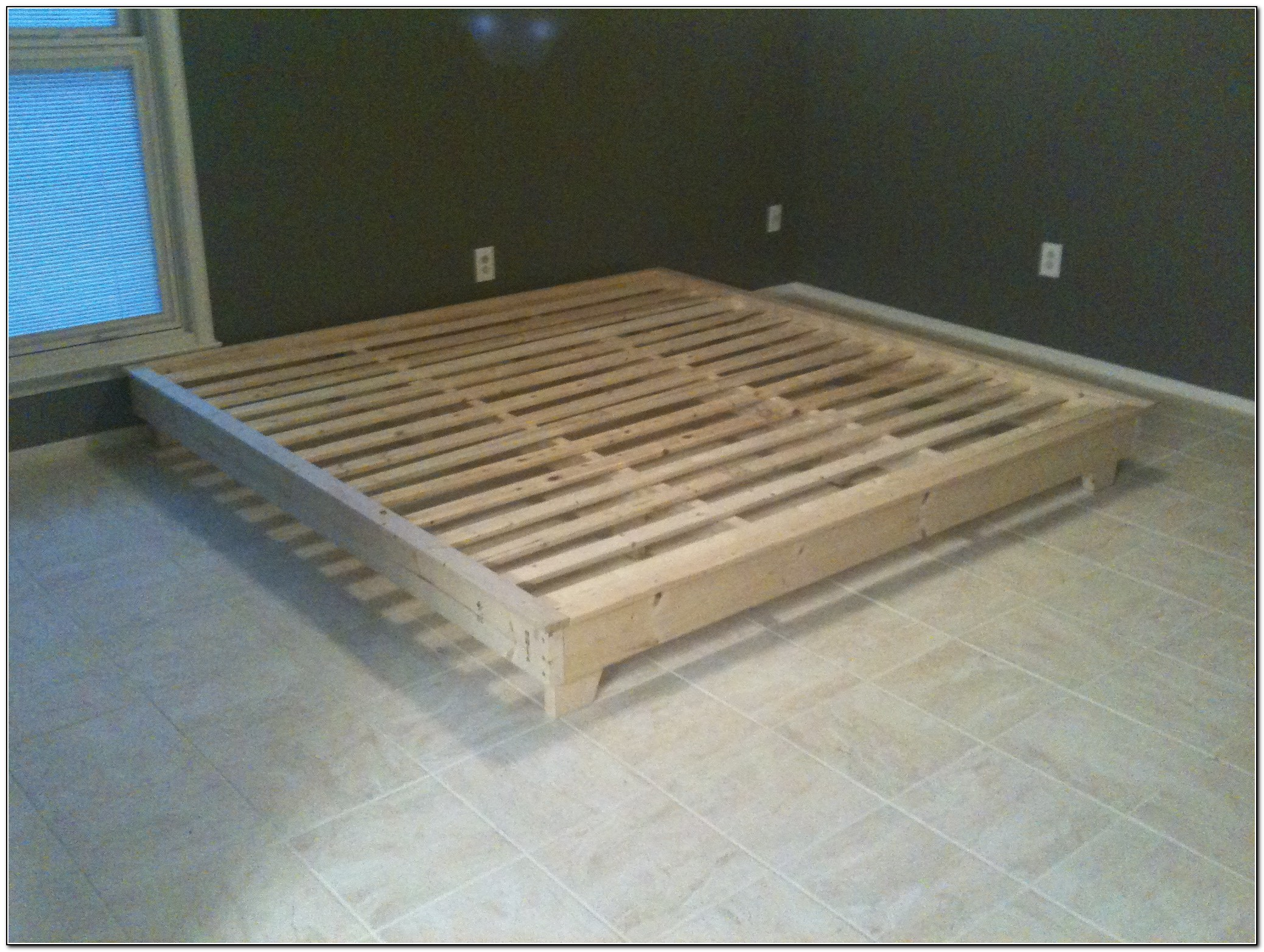 Diy King Platform Bed Plans Beds Home Design Ideas