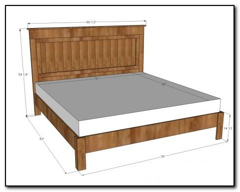 Full Size Bed Frame Dimensions