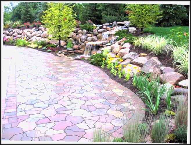 Paver Stone Patio Ideas Patios Home Design Ideas
