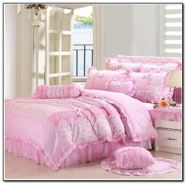 Girls Bedding Sets Pink