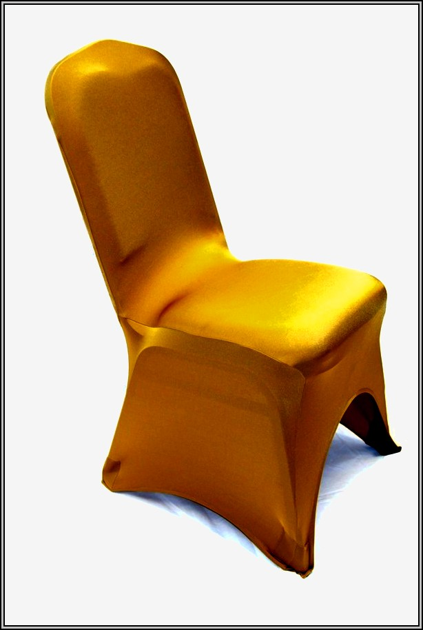 Gold Chair Covers For Weddings