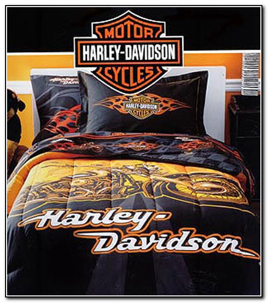 Harley Davidson Bedding Sets Queen Size
