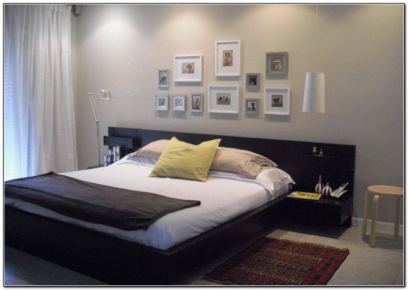 Ikea Malm Bed With Side Tables Beds Home Design Ideas