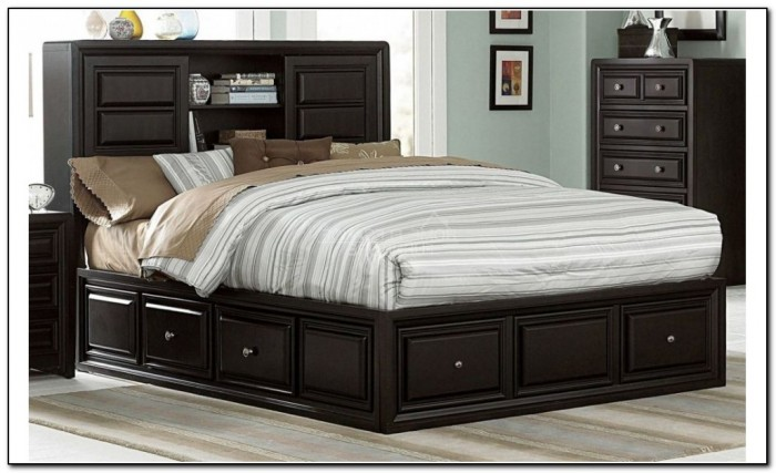 King Size Beds With Drawers