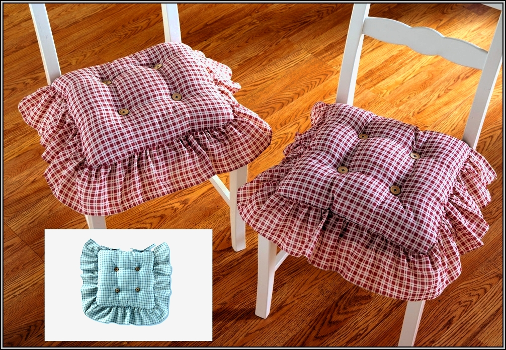 Kitchen Chair Cushions With Ruffles Download Page Home