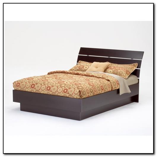 Laguna Queen Platform Bed With Headboard