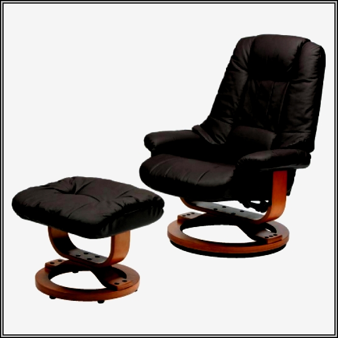 Leather Recliner Chairs With Ottoman