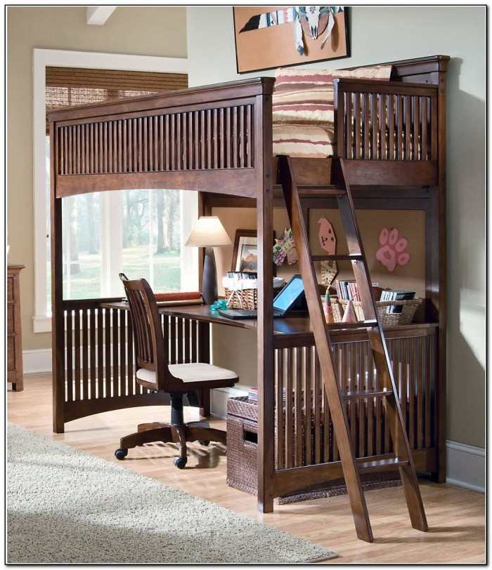 Lea Industries Loft Bed With Desk Desk Home Design