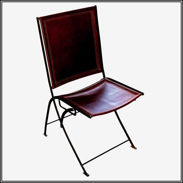 Metal Folding Chairs At Wedding