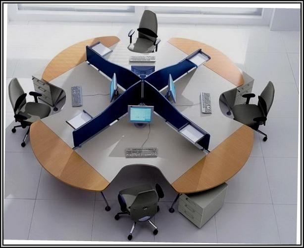 Modular Office Furniture Layout