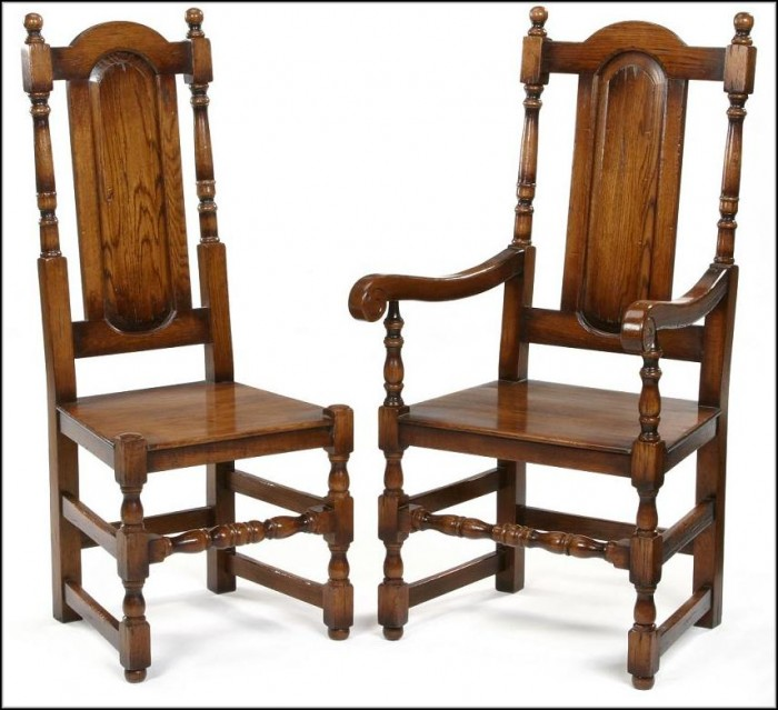 Oak Dining Chairs Amish