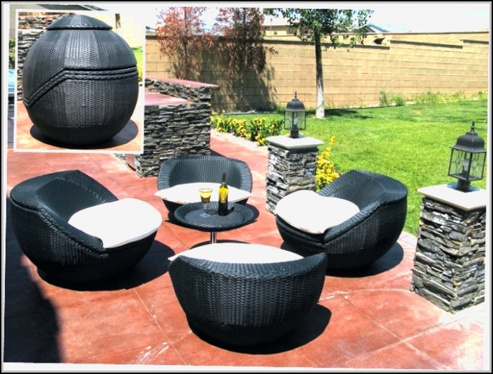Outdoor Patio Furniture Wicker