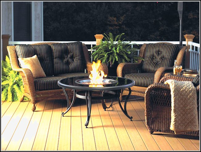 Patio Fire Pit Designs