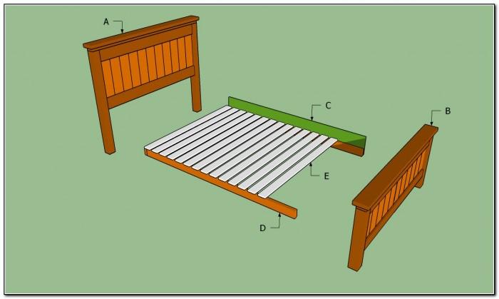 Queen Size Bed Frame Design Plans
