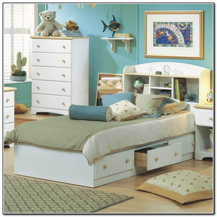 Twin Bed Frame Storage