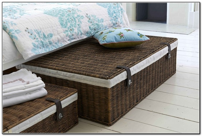 Under Bed Storage Baskets