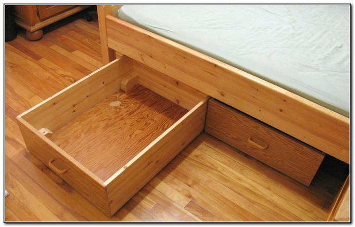Under Bed Storage Bins