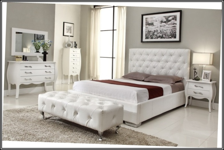 White Bedroom Furniture Design