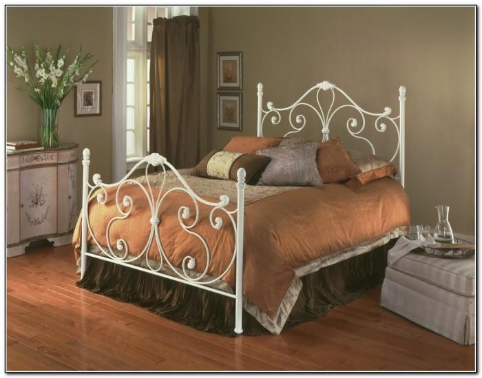 White Iron Bed Frames