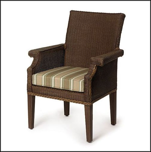 Wicker Dining Chairs With Casters