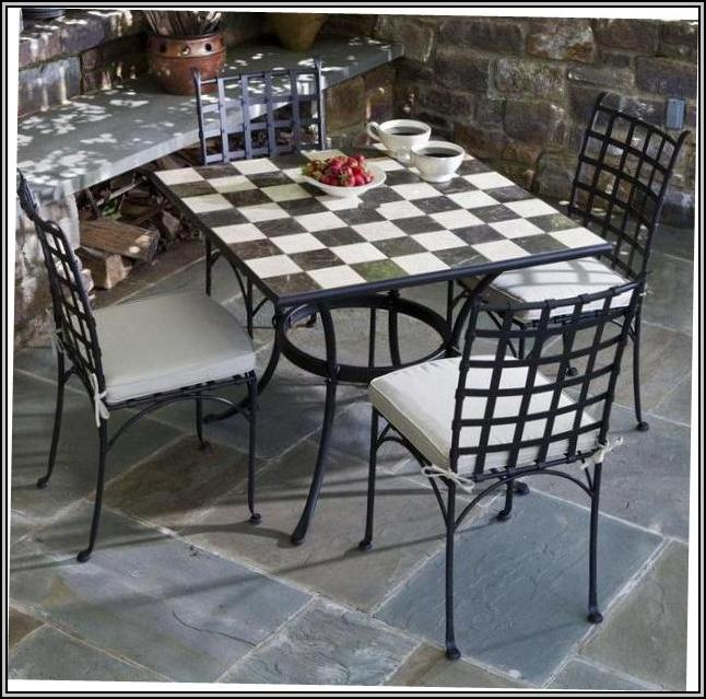 Wrought Iron Furniture Designs