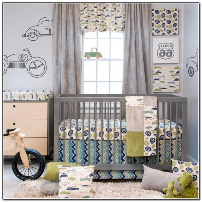 Baby Boy Crib Bedding Cars