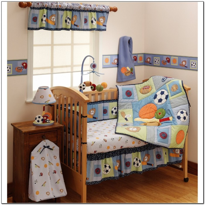 Baby Boy Crib Bedding Sports