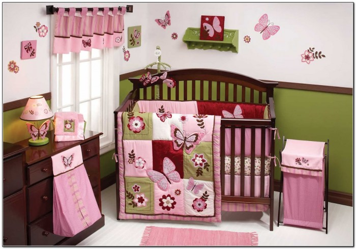 Baby Crib Bedding For Girls