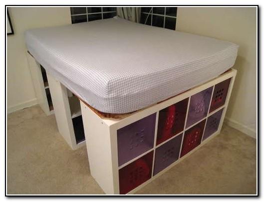 bed frame with storage diy - Diy Bed Frame With Storage