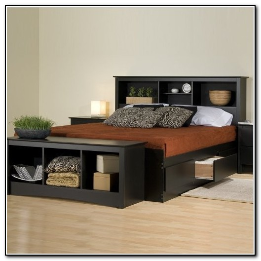 Bed Frames With Storage Drawers