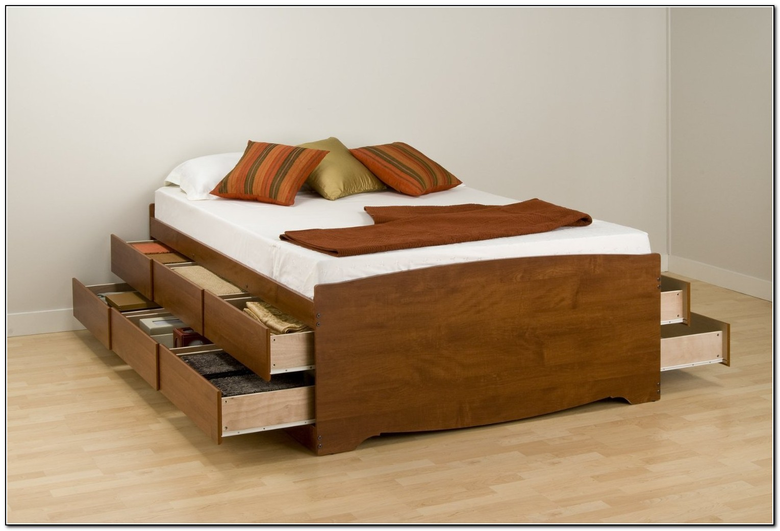 Bed With Drawers Underneath Download Page Home Design