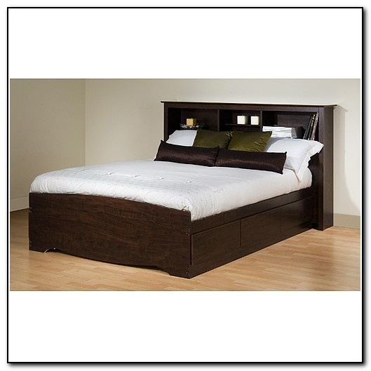 Beds With Storage Headboards