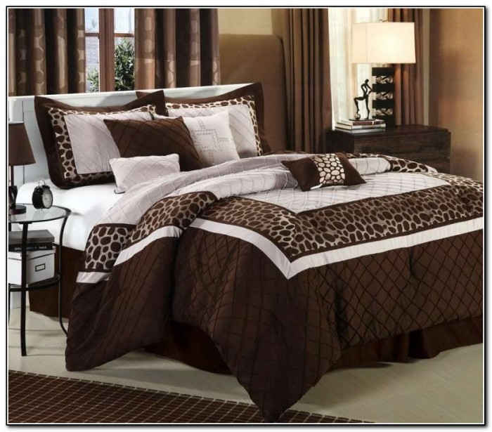Brown Luxury Bedding Sets