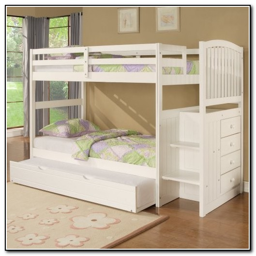 Bunk Bed With Stairs And Storage
