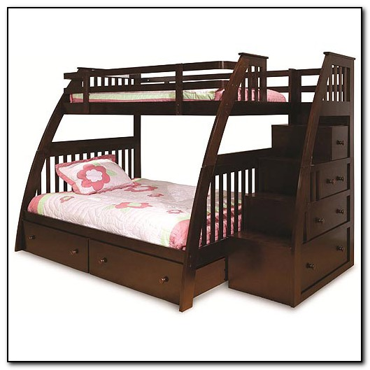 Bunk Bed With Stairs Canada