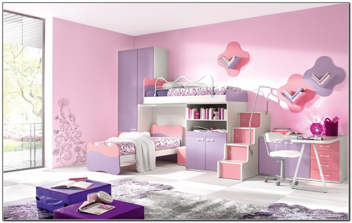 Bunk Beds For Girls With Desk