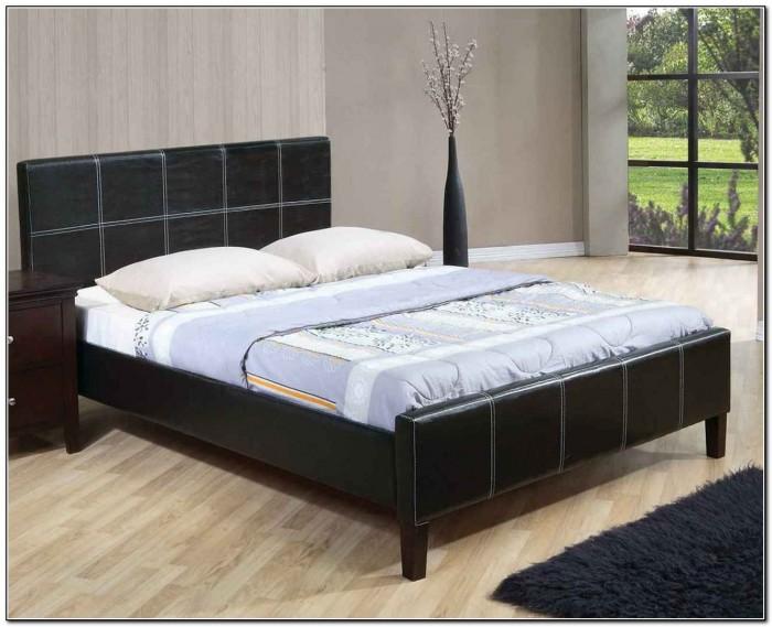 Cheap platform beds queen beds home design ideas for Make a platform bed cheap