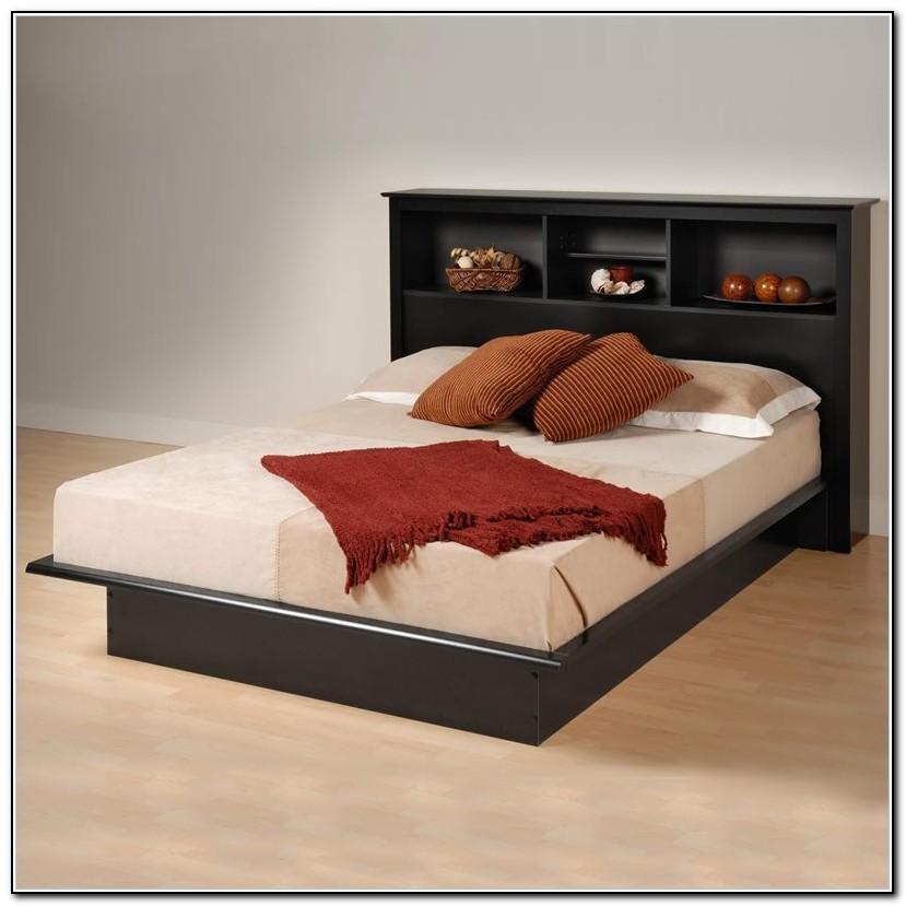Cheap Platform Beds With Headboard